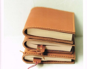 Hand-Sewn Leather Bags & Zakka Pattern, Kuniko Notani, Japanese Leather Craft Book, Tool Cover, Book Jacket, Pen Case, Coin Purse, B1418