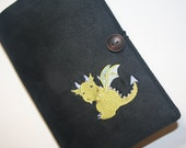 Baby Dragon Embroidered Book Cover