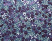 Liberty tana lawn printed in Japan - Wiltshire - Grape purple mix