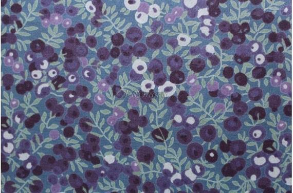 Tana lawn Liberty imprimé en mélange de Japon - Wiltshire - mauve raisin
