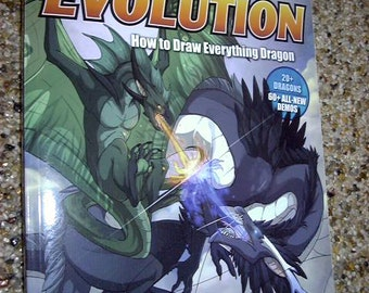 DragonArt Evolution How to Draw Everything Dragon J Neon Dragon Peffer Art Book
