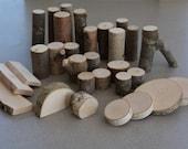 Branch Building Blocks Tree Blocks Waldorf Natural Toys 30 Piece Set