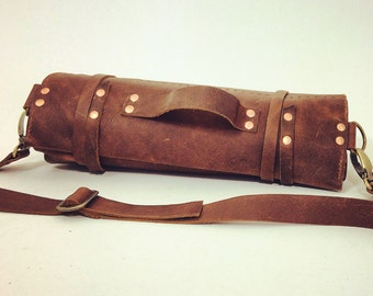 Leather Chef's Knife Roll