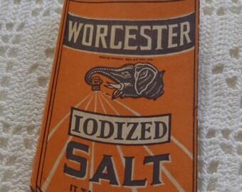 Vintage Needle Holder Worcester Salt