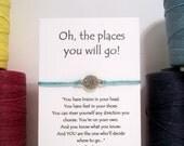 Compass Wish Bracelet Perfect for Graduation
