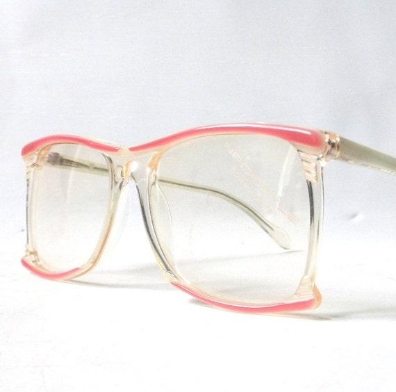 vintage 1980 s nos neostyle square eyeglasses prescription