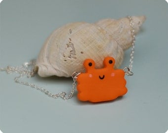 Cancer fimo necklace