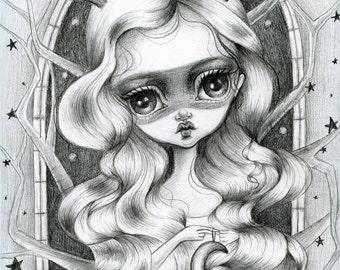 8x10 Fine Art Print-The Wish Maker