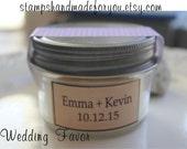 Wedding Favors Custom Candles Wedding Favors Custom Wedding Candle Favor, 4oz Jar with Custom Labels, Personalized Wedding Favor