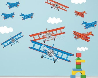 Group Airplane Decals