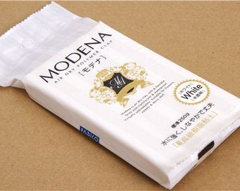 Modena Air Dry Polymer Clay. 250g. Waterproof Air Dry Polymer Clay. Good for crafts and deco sweets.
