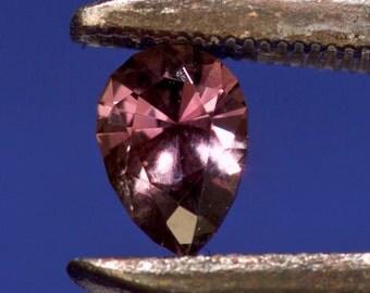 Sapphire .49 carat Pink pear shape 6x4mm eye clean Grade A