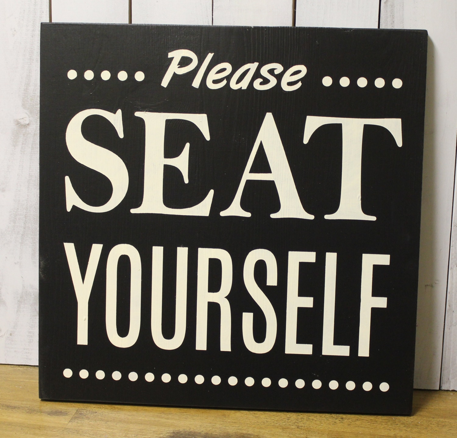zoom. Please Seat Yourself Bathroom Sign Bathroom by WorldsSweetestSigns