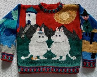 Knitting Pattern: Moomintroll Adult