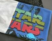Reclaimed Tee-Shirt Scarf:  Star Wars!