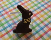 Chocolate Bunny for your Sock Monkey or Doll