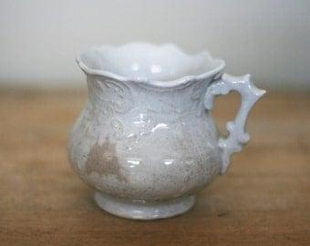vintage victorian mug shabby style  steam punk