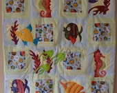 Little Fishies Baby Quilt