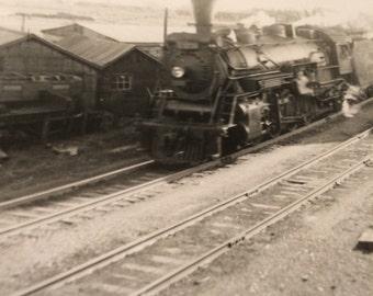 GTW 2 #3736 Burlington Ontario. Locomotive photo Hutchinson and Matthews Collection. Circa 1946