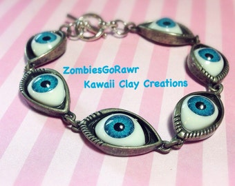 Creepy Doll Eye Bracelet