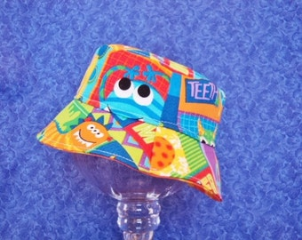 Monster Baby Bucket Hat Colorful and Fun