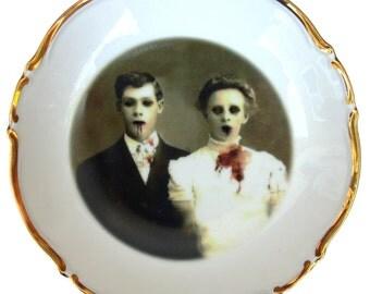 """Portrait Bowl. Zombie Love Portrait 5.4"""""""