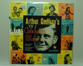 Vintage 1950's Record Album  Arthur Godfrey's TV Calendar Show