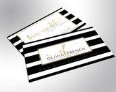 Gold Foil Business Cards, Bold