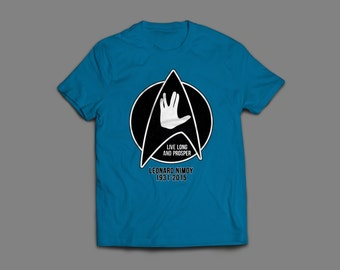 Leonard Nimoy Star Trek Shirt