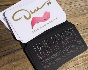 Gold Business Cards with Silky Matte Finish