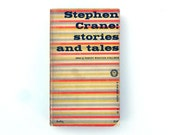 "Alvin Lustig paperback book cover design, 1955. ""Stephen Crane: Stories and Tales"""