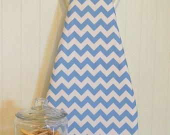 NEW!  Designer Ironing Board Cover - Riley Blake Medium Blue Chevron
