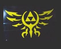 Legend of Zelda Tribal Hyrule Crest vinyl decal