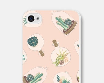 Samsung Galaxy S6 Case iPhone 6 Case Cactus iPhone 6 Plus Case Cactus iPhone 6s Case iPhone 5c Case Succulent iPhone 5 Case iPhone 5s Case