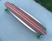 "Longboard / Skateboard 42 x 9.25  - Custom Made - ""Gold"""