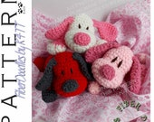 INSTANT DOWNLOAD : Little Pals - Puppy Crochet Pattern