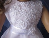 First communion dress for your American Girl doll