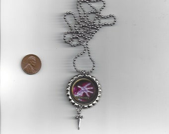 World of Warcraft Inspired Warlock Necklace / Pendant / Charm / Cell Phone Strap / Jewelry - FREE SHIPPING