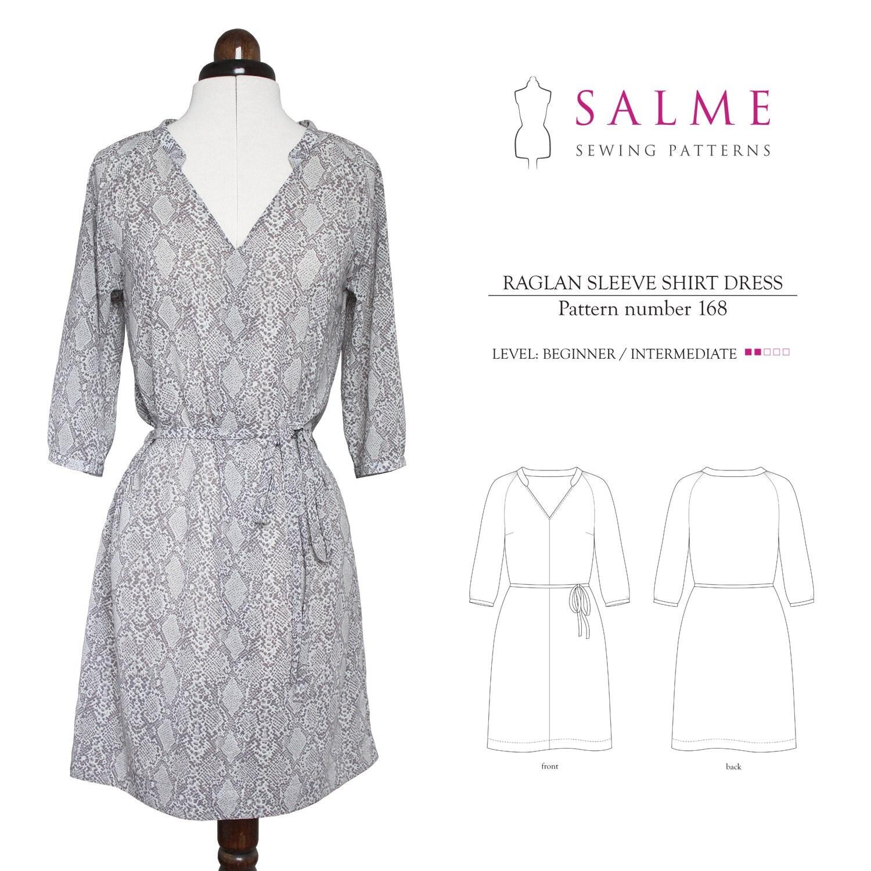 Maxi tee dress pattern
