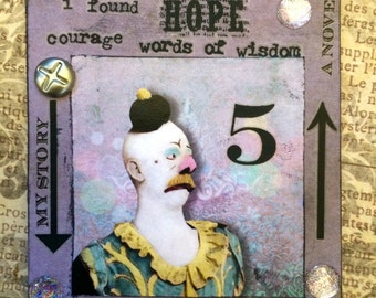 A Clowns Story Another ACEO By AlteredHead