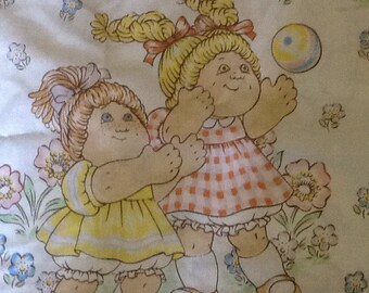 Cabbage Patch Kids Vintage Twin flat Sheet