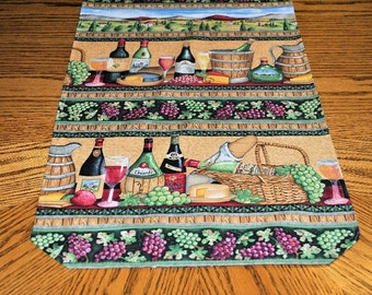 Wine Country Reversible Table Runner