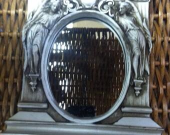 Museum  Facsimilies Art Nouveau Angel Mirror