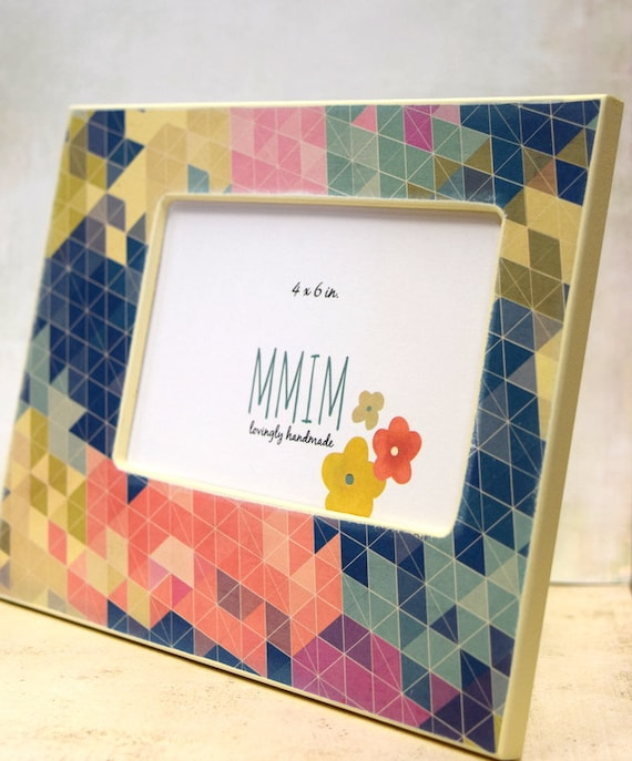 Mosaic 4 X 6 Picture Frame Photo Frame Table Top Photo