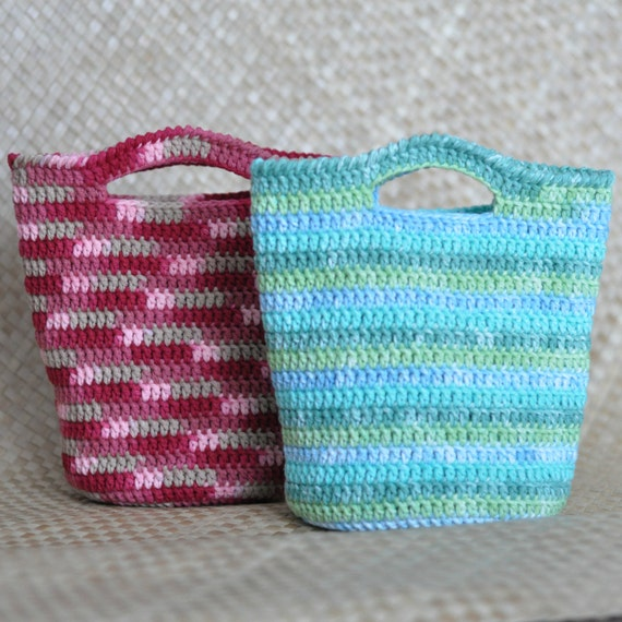PDF Haleiwa Gift Bag N Lunch Tote Crochet Pattern