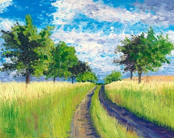 Giclee print, Country Road, 8 x 10 in.