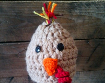 Turkey Hat,Custom Made,Turkey Beanie,Thanksgiving Hat,Thanksgiving Photo Prop,Custom Hat,Farm Hat,Farm Beanie,Poultry Hat,Holiday Hat