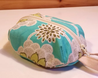 Zippered Pouch Makeup Bag - one
