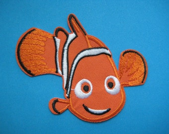 Iron-on embroidered Patch Nemo 3.75 inch