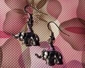 cute elephant earrings